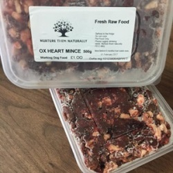 NTN Ox Heart Minced 500g