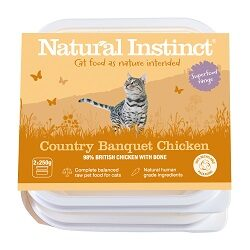 NI Chicken Cat Country Banquet 2 x 250g