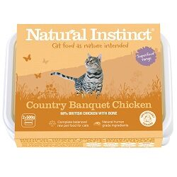 NI Chicken Cat Country Banquet 2 x 500g