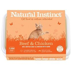 NI Beef & Chicken Cat 2 x 500g