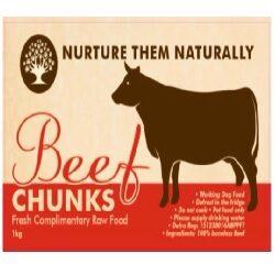 NTN Beef Chunks (Boneless) 1kg