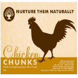 NTN Chicken Chunks Boneless 1kg