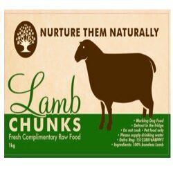 NTN Lamb Chunks Boneless 1kg