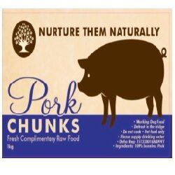 NTN Pork Chunks Boneless 1kg