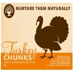 NTN Turkey Chunks Boneless 1kg
