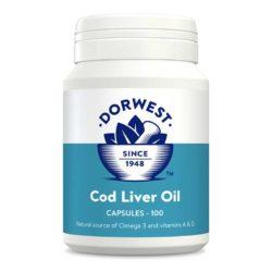 DW Cod Liver Oil Capsules 500 Capsules