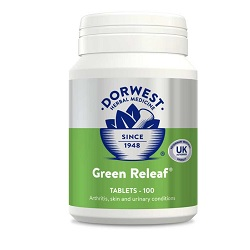 DW Green Releaf Tablets for Cats & Dogs – 100 tablets
