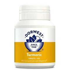 DW Turmeric Tablets for Cats & Dogs 100 tablets