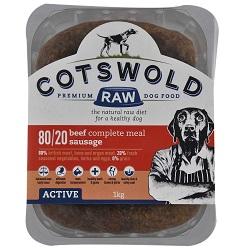 CW Beef Sausage 80/20 Active – 1kg