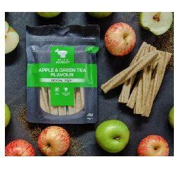 BN Apple & Green Tea Dental Treats Large B&M 190g