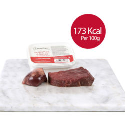 PF Beef Trim with Ox Heart (Adult Cat)  250g