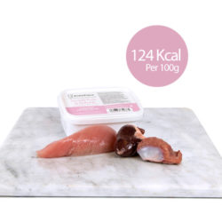 PF Turkey Breast with Heart & Gizzard (Adult and Kitten) 250g