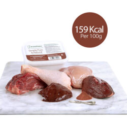 PF Beef Trim & Chicken With Ground Bone (Kitten) 450g