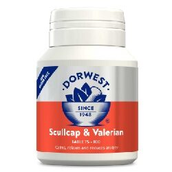 DW Scullcap & Valerian for Cats & Dogs 200 Tablets