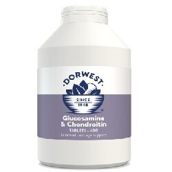 DW Glucosamine & Chondroitin Tablets for Dogs & Cats 400 Tablets