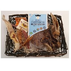 Hamper with Ostrich Treats