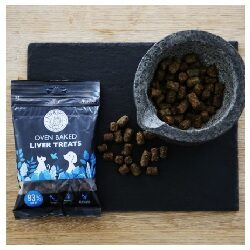 NM Liver Treats from Leo & Wolf Oven Baked 100g