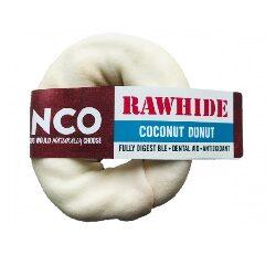 AC Coconut Rawhide Braided Donut Small