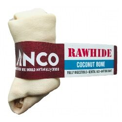 AC Coconut Rawhide Bone Small