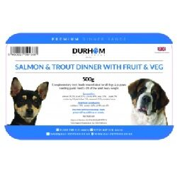 DAF Salmon & Trout Dinner with Fruit WD 500g